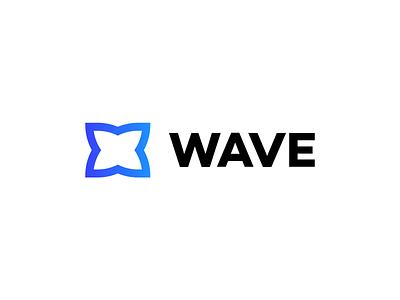 Unused logo mark gradient blue brand design logo design unused symbol flat brand logo mark icon typography illustration redesign mark branding logo design wave