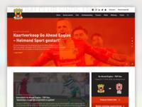 Go Ahead Eagles - Concept redesign