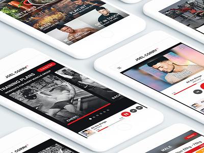Fitness App design ui design