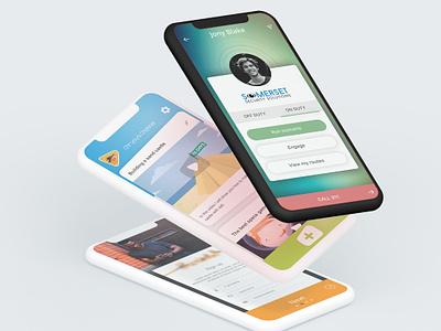 App designs mobile design ui