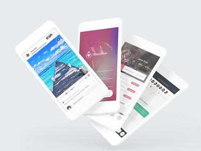 Some recent app designs #2 pixel app mobile design ui