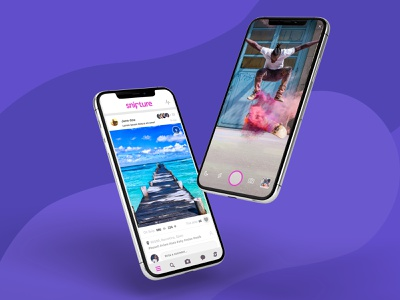 Social Photo Network UI design app uiux ui app design app