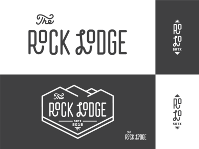 Rock Lodge Branding