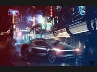 Tesla Pickup Truck - Bladerunner Scene