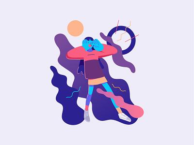 Comment Ui Illustration vector ux ui illustration graphic flat app stylish fluid