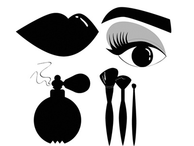 Beauty Vector Icons branding concept branding design iconography visual style adobe illustrator design graphic design beauty illustration vector icons illustration