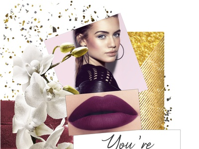 Beauty collage #2 beauty illustration graphic design commercial illustration avonbulgaria beauty branding branding beauty collage beauty
