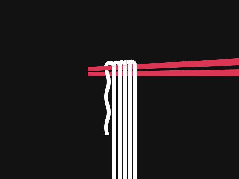 noods pt 2 icon illustration graphic food japan chopsticks noodles ramen