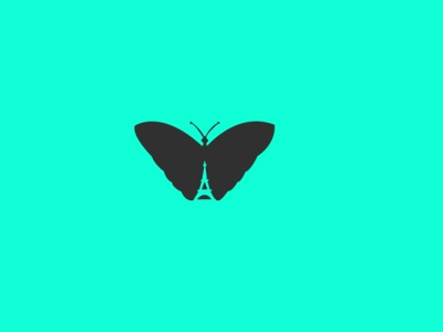 french butterfly  logo designs cartoon illustration minimal vector logo banner design illustration illustrator icon design branding