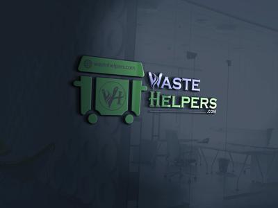 Logo Design Illustration Waste Helpers