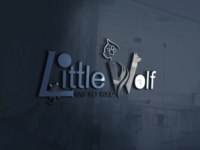 Logo Design Little Wolf