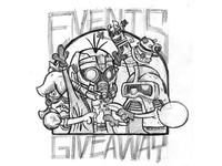 Events Giveaway Shirt - Sketch