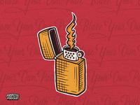 Pt. 1 Blaze Your Own Path Illustration Podcast Artwork branding side hustle drawing procreate art procreate handdrawn design podcast illustration hand lettering lettering
