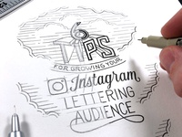 6 Tips for Growing Your Instagram Lettering Audience