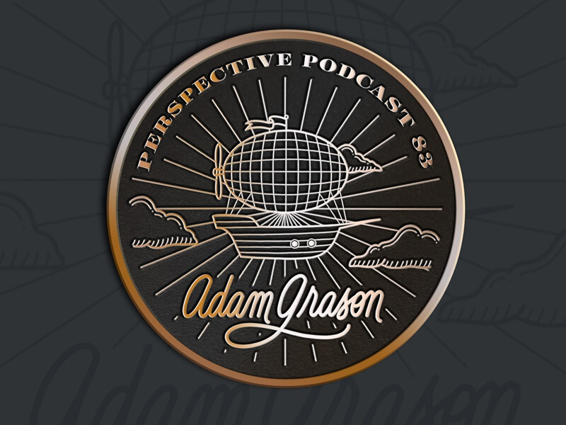 Adam Grason Enamel Pin Mockup podcast procreate art design illustration lettering hand lettering