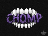 Chomp Illustration & Lettering for the Perspective Podcast