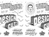 Tom Ross Design Cuts Flash Sheet Perspective Podcast Art