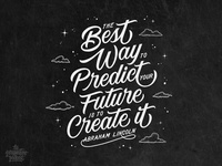 Create Your Future Hand Lettering