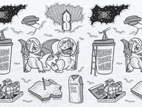 Show Your Weird Illustration Lettering Flash Sheet