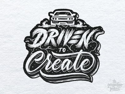 Driven to Create Lettering & Illustration