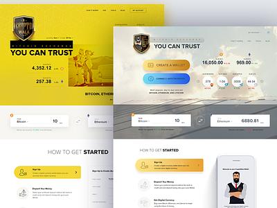 Cryptowala - Digital Currency Exchange ethereum bitcoin wallet admin portal user interaface exchange digital currency crypto