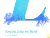 Logan Print Crop