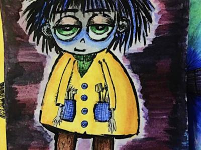 Arlo Character Sketch