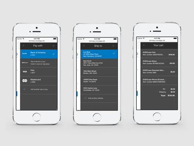 PayPal Checkout Redesign paypal checkout payment mobile payments design iphone web responsive