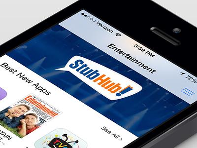 StubHub Featured! itunes stubhub ios apple featured tickets events concerts app entertainmen