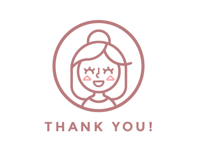 Thank you! self portrait portrait logo iconography illustration first shot first thank you thanks