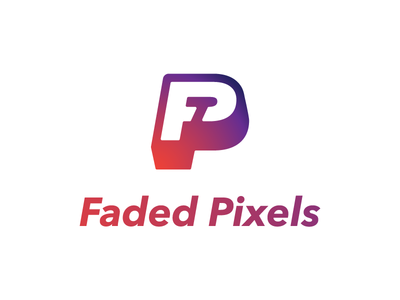 Faded Pixels Logo