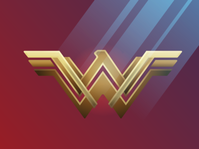 Wonder Woman Faded Pixels Artwork
