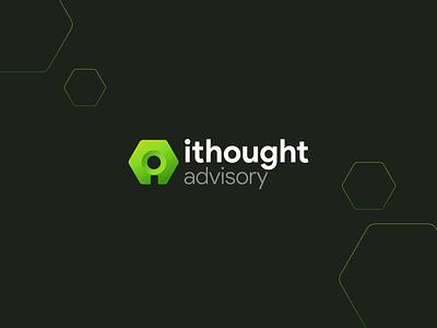 Ithought - Logo identity design design concept clean identity icon branding logo