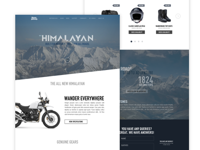 Royal enfield - Redesign
