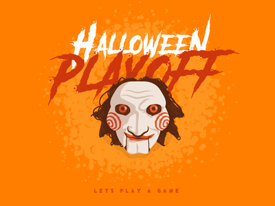 halloween playoff - stickermule