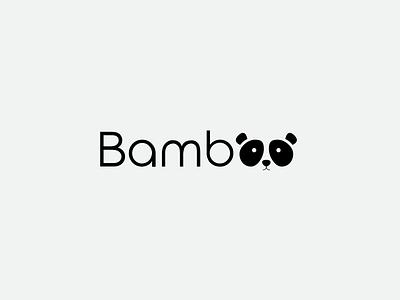 Daily Logo #3 ~ Panda Logo black bear panda typogaphy branding logotype challenge logo daily