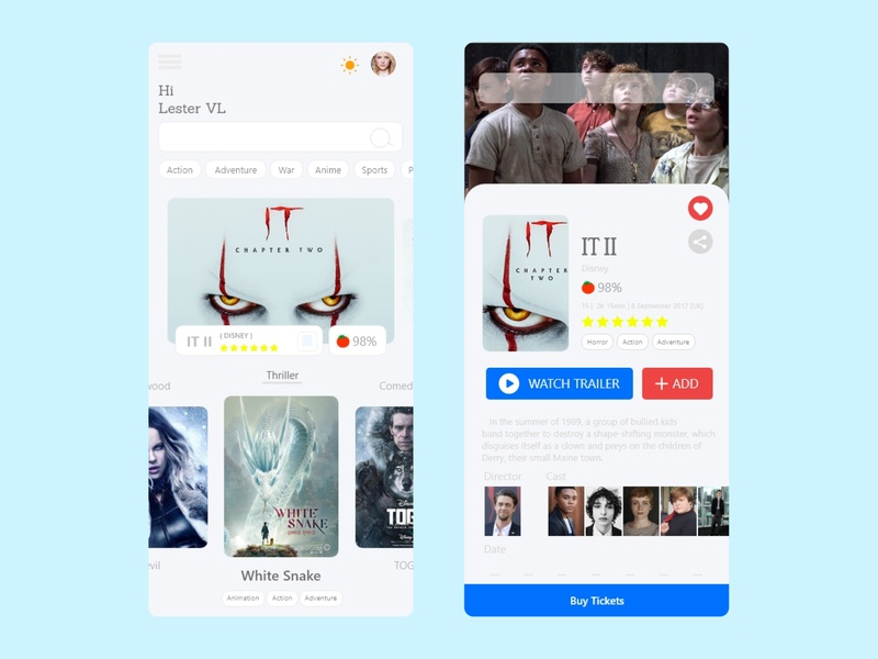 Prime time Dashboard and select Mobile App #1 movies app movie app ux design uidesign ux xd movies figma branding mobile ios android app xd design