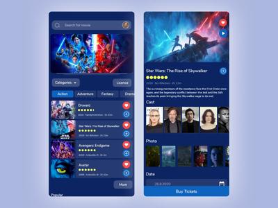 Zoom + Mobile App ux design ui design movies movie app movies app xd figma ux ui design mobile ios android app branding xd design after effect