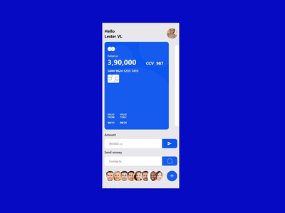 Payment and Banking App ( Animation ) ui design ux design banking bank payment branding mobile ios android app xd design after effect
