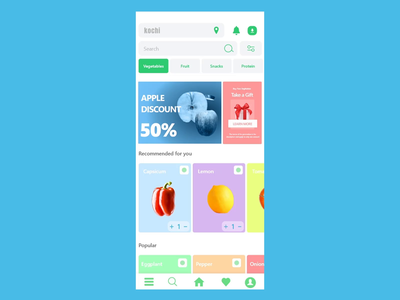 Daily need purchase App ( Animation ) purchase ux design ui design design ux ui branding after effect mobile ios android app xd design