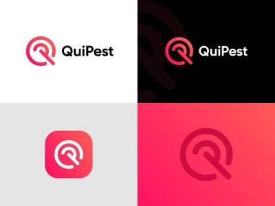 Logo Design for Quipest logotype logo mark icon p logo q logo abstract logo clean simple design modern logo popular logo logo design identity logo app popular creative logo vector branding flat