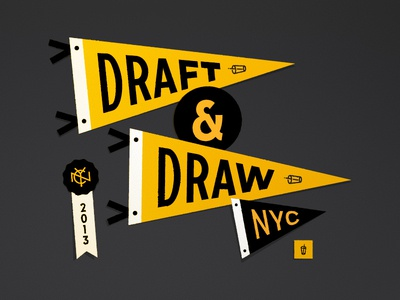 Draft & Draw Pennants