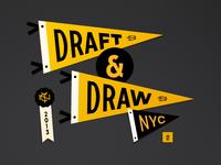 Draft & Draw Pennants