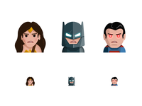TW Emoji / Batman vs Superman
