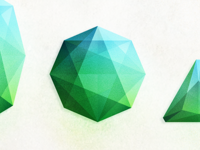 Gem detail gem shiny stone vector illustration album detail geometric