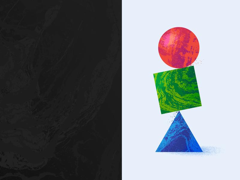 Texture Study 00 illustration experiment texture