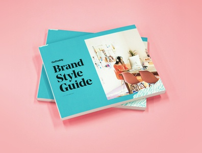 GoDaddy Brand Style Guide standards godaddy guidelines styleguides branding brand design brand styleguide