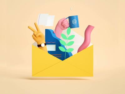GoDaddy Pro Email email product cgi 3d animation buck godaddy