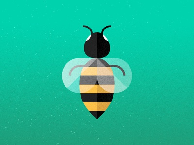 Bzzz bee bug drawing illustration buzz wasp hornet insect