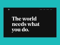 The GO Landing Page logodesign logo branding brand godaddy